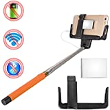 Maxry TM Wired Control Cable Extendable Selfie Phone Monopod Mirror Audio Cable Wired Selfie Stick Photos XC218...