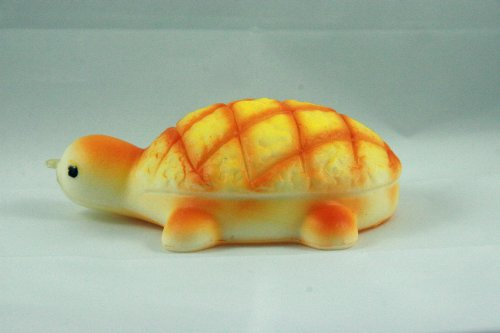 Jumbo Turtle Melon Pan Bun Squishy by TGA Products Food, Beverages Tobacco Food Items Bakery ...