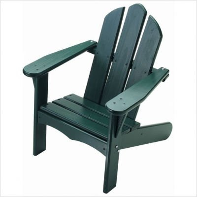 Child's Adirondack Chair Finish: Green