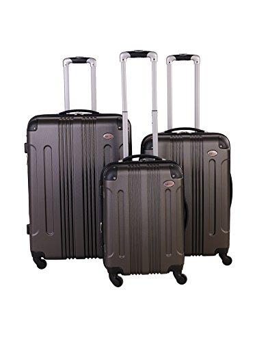 American Flyer Kova Hardside 3-Piece Luggage Set, Gray
