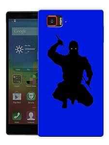 "Midnight Ninja Printed Designer Mobile Back Cover For ""Lenovo Vibe Z2 Pro K920"" By Humor Gang (3D, Matte Finish, Premium Quality, Protective Snap On Slim Hard Phone Case, Multi Color)"