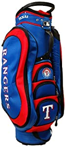 MLB Texas Rangers Medalist Cart Golf Bag, Blue by Team Golf