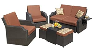 Mission Hills 26722-CO Sedona 4-Piece Seating Set by Mission Hills Furniture