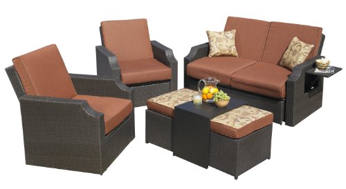 Mission Hills 26722-CO Sedona 4-Piece Seating Set