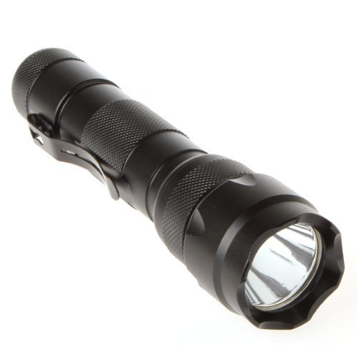 Allnice® High Quality 1000 Lm Wf-502B Cree Xm-L T6 Led 5 Mode Led Flashlight Waterproof High Power Torch (With One Battery And Charger)