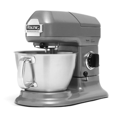 Viking Professional Gray Stainless Steel 5 Quart Stand Mixer