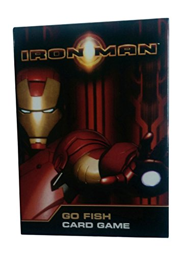 Iron Man - Go Fish Card Game - 1