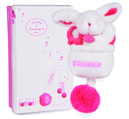 Dou Dou et Compagnie Baby Music Box Toy Strawberry Pink DC2743 - 1