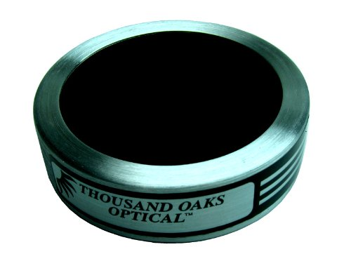 Black Polymer Solar Filter For Cameras, Finders, 50Mm Diameter
