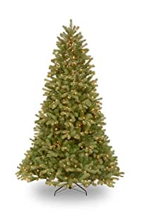 National Tree Company 6-1/2-Feet Downswept Douglas Fir Tree with 650 Clear Lights