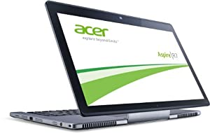 Acer Aspire R7-572G-74508G25ASS 39,6 cm (15,6 Zoll) Convertible Notebook (Intel Core i7 4500U, 3GHz, 8GB RAM, 256GB SSD, NVIDIA GF GT 750M, Touchscreen, Windows 8) silber