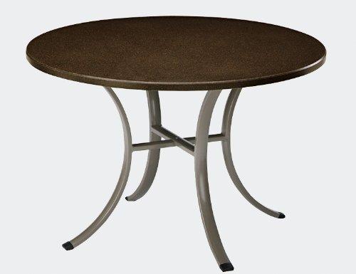 Sun Garden Tischplatte zu Tisch York, rund, cappuccino