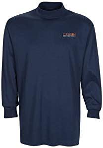 NCAA Clemson Tigers Mens Carlow Mock Turtleneck, Classic Navy, XX-Large by Oxford
