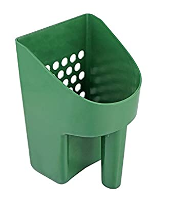 SE GP3-SS20 Plastic Sand Scoop for Treasure Hunting in Green Newin