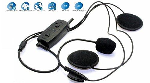 Riorand® Up 500M Bt Interphone Bluetooth Motorcycle Motorbike Helmet Intercom Headset Fm