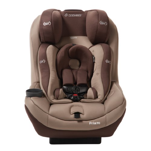 2014 Maxi-Cosi Pria 70 with Tiny Fit Convertible Car Seat, Walnut Brown