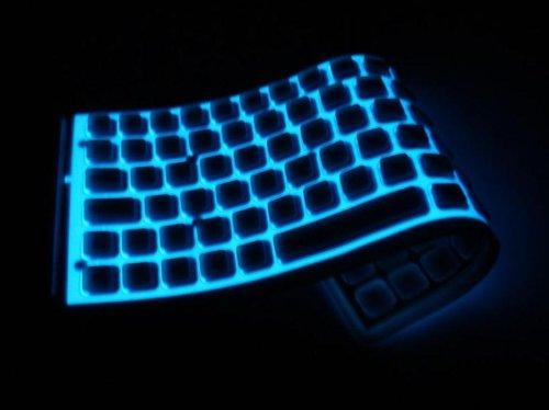 led gummi silikon einrollbare tastatur mit usb ps2 85. Black Bedroom Furniture Sets. Home Design Ideas