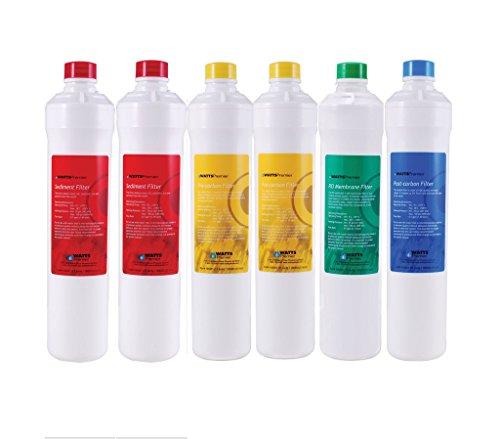 Premier Ro Pure Replacement Filter 6-pack Plus Membrane (Watts Premier Ro Membrane compare prices)