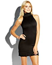 bebe Turtleneck Bodycon Dress