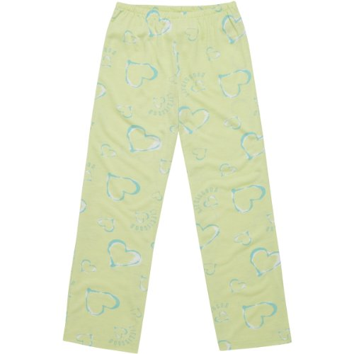 Life Is Good Heart Sleep Pants, Lime Green, Xx-Small front-744153