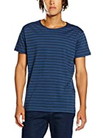 Cheap Monday Camiseta Manga Corta Standard Tee Multi Stripe (Azul)