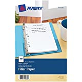 Avery Mini Filler Paper, 5.5 x 8.5 Inches, 100 Sheets (14230)