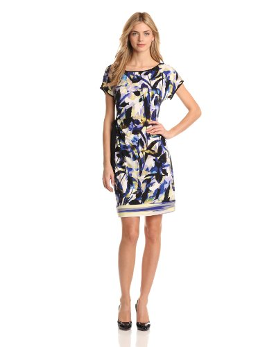 Calvin Klein Women's Side Tie Dress