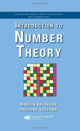 By Martin Erickson - Introduction to Number Theory: 1st (first) Edition, by Anthony Vazzana, Anthony Vazzana Martin Erickson