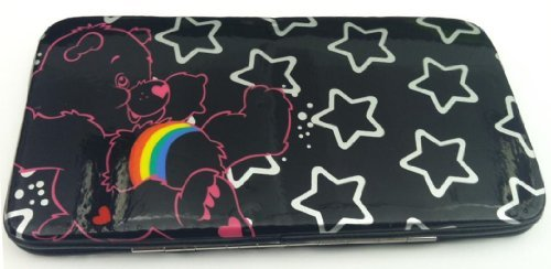 Care Bears Stars Glossy Hinged Wallet front-1005539