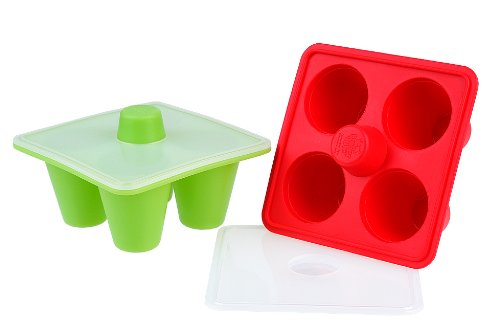Kinderville Little Bites Freezer Trays (Set of 2)