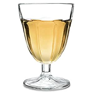 Roman Wine Glasses 140ml Case Of 48 Classic Short Stemmed Wine Goblets From Arcoroc
