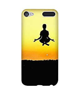 Flying Meditation Apple iPod Touch (6th Generation) Case