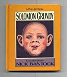 Solomon Grundy: A Pop-Up Rhyme (0670843199) by Bantock, Nick