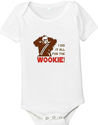 I Did It All For The Wookie One-piece Baby Shirt/Bodysuit