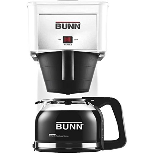 White Coffee Brewer (Bunn Coffee Makers For Home White compare prices)