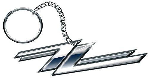 ZZ Top - Keyring Schlüsselanhänger - Twin Zees Logo (in One Size)