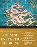 img - for The Secret Teachings of Chinese Energetic Medicine: Developing Intuitive and Perceptual Awareness, Energetic Foundations, Treatment Principles, and Clinical Applications (Vol. 3) book / textbook / text book