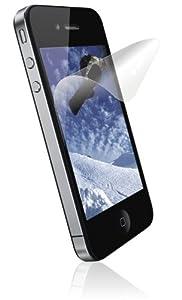 Xqisit Pack de 3 Film de protection d'écran pour iPhone 4