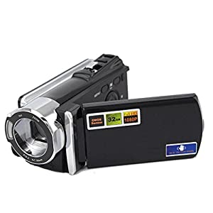 16x Digital Zoom 1080p Digital Camera Dv Camcorder Video Camera Black