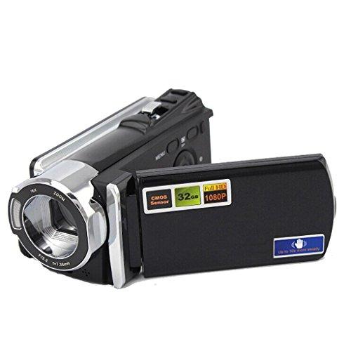 16X Digital Zoom 1080P Digital Camera Dv Camcorder Video Camera Black