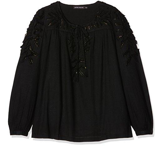 Antik Batik Sabba, Camicia Donna, Nero, S
