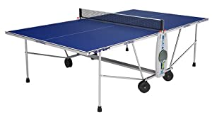 Cornilleau - Table Ping Pong - Sport One Outdoor - Couleur : Bleu