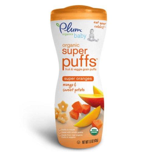 Plum Organics Super Puffs - Mango & Sweet Potato - 1.5 oz