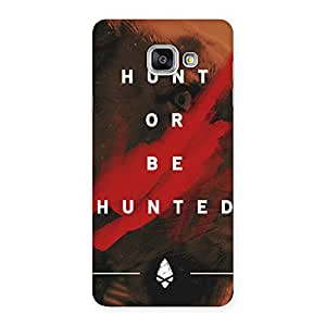 Impressive Hunted Multicolor Back Case Cover for Galaxy A7 2016