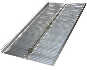 Fauteuil Roulant Rampe En Aluminium Pliable 180 Cm Amazon