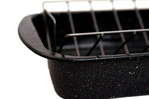 Granite Ware 0564 Open Rectangle Roaster With Non Stick V