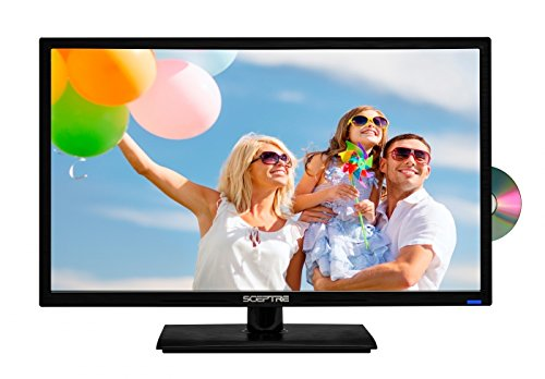 "Buy Bargain Sceptre 24"" 1080P LED HDTV DVD Combo E249BD-FMQC MHL Ready, Metal Black"