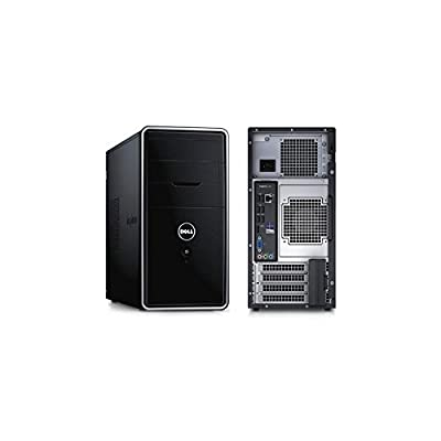 Dell Inspiron 3847 Windows 7 Professional Desktop (4th Gen Intel Core i5-4460 3.4GHz, 1TB HDD, Keyboard, Mouse ,WaveRest MousePad Included) ...