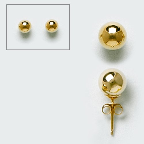 10KT Gold Earring Ball 10M