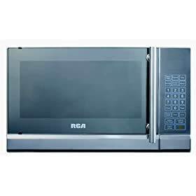 RCA RMW741 0.7 Cubic Foot Microwave, Stainless Steel Design
